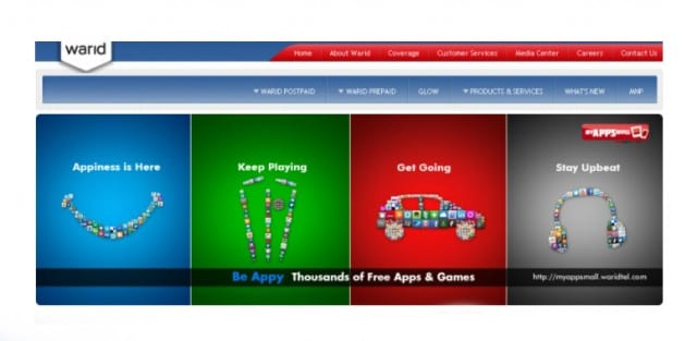 Warid Launches its App Store