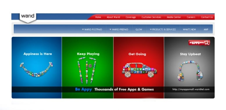 "Warid Launches its App Store ""MyAppsMall"""