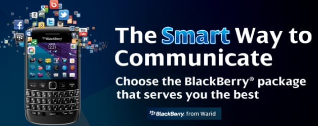 BlackBerry Warid Packages: BlackBerry Internet Services