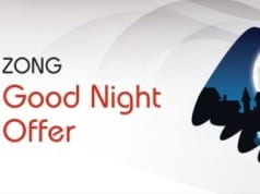 ZONG Offers Unlimited Mobile Internet During Night