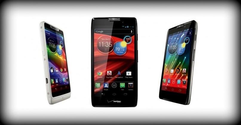 Motorola DROID RAZR family officially announced