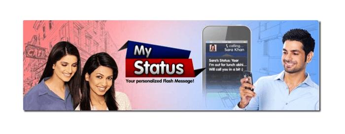 My Status Service by Warid