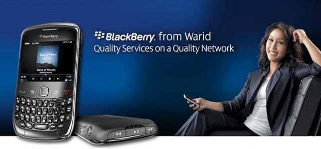 Warid introduced BlackBerry Curve 9320