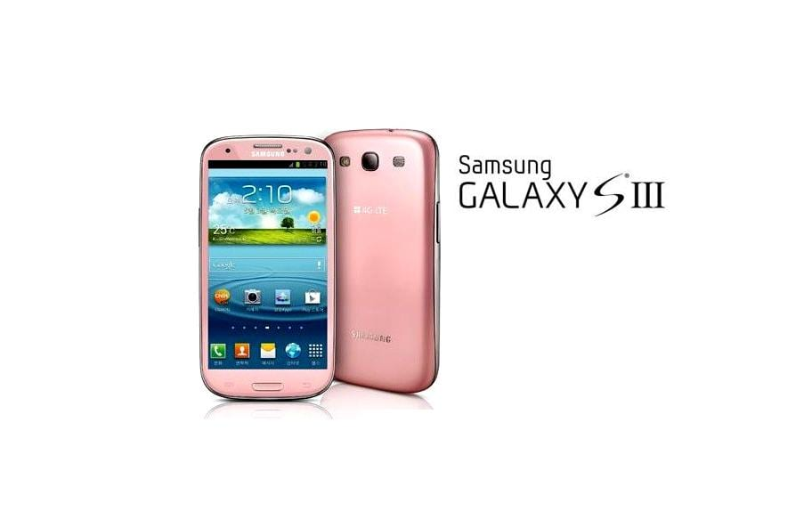 Photo of Pink Samsung Galaxy S3 announced