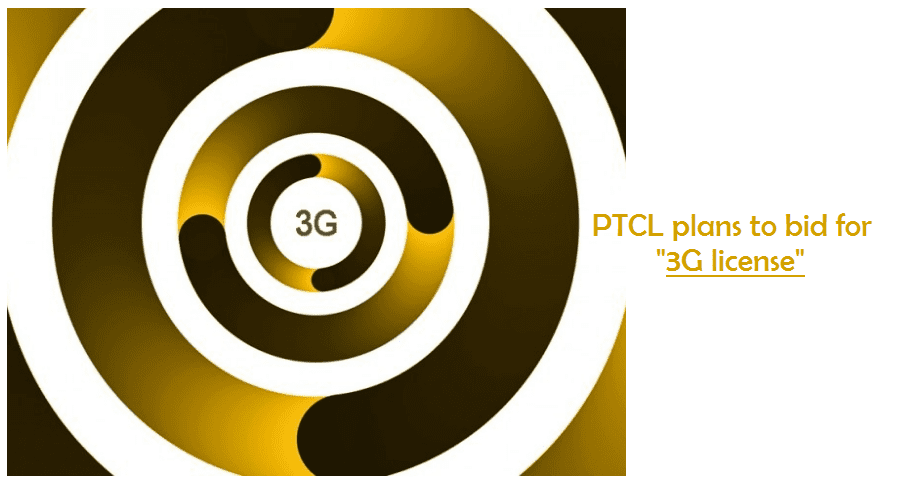 PTCL plans to bid for 3G license