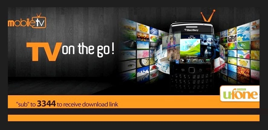 Ufone Introduces Umobile TV with WiFi Enabled