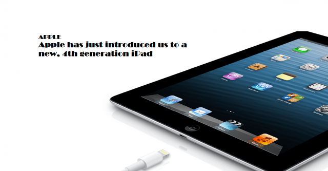 Apple announces 4th generation iPad packing an A6X Chip ...