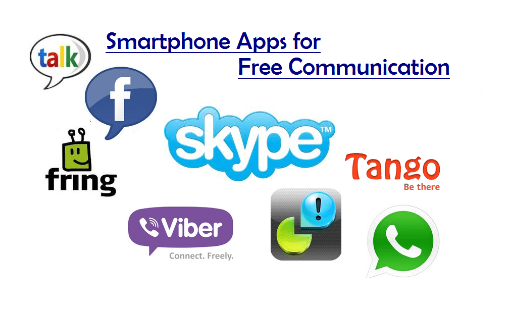 Smartphone Apps For Free Communication