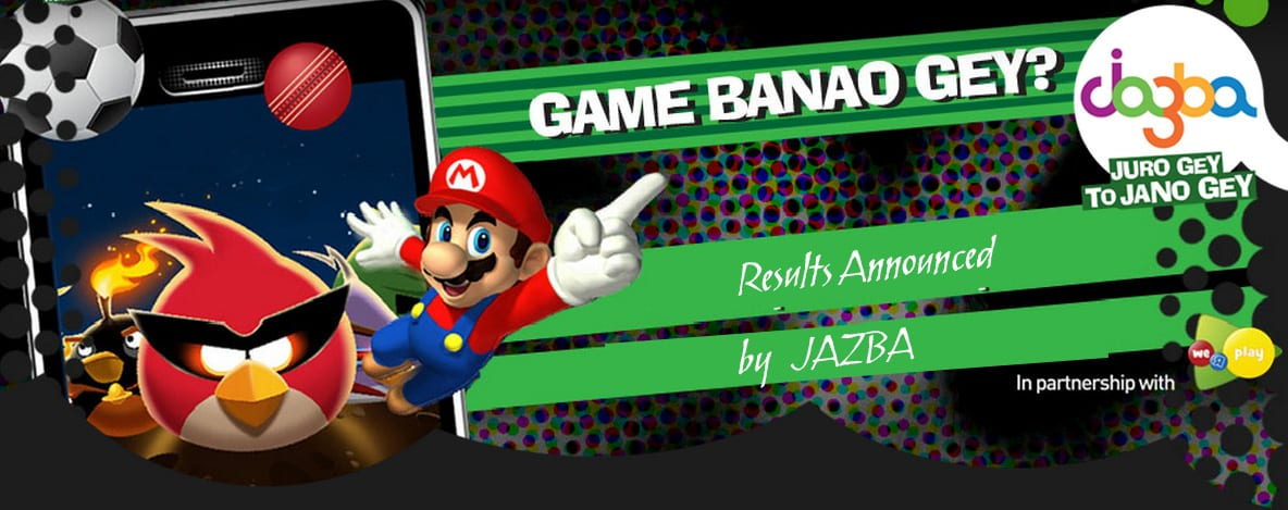 """Game Banao Gey"" Results announced by JAZBA"