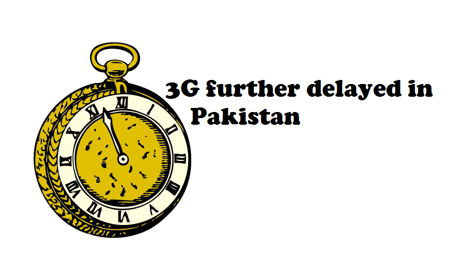 3G further delayed in Pakistan