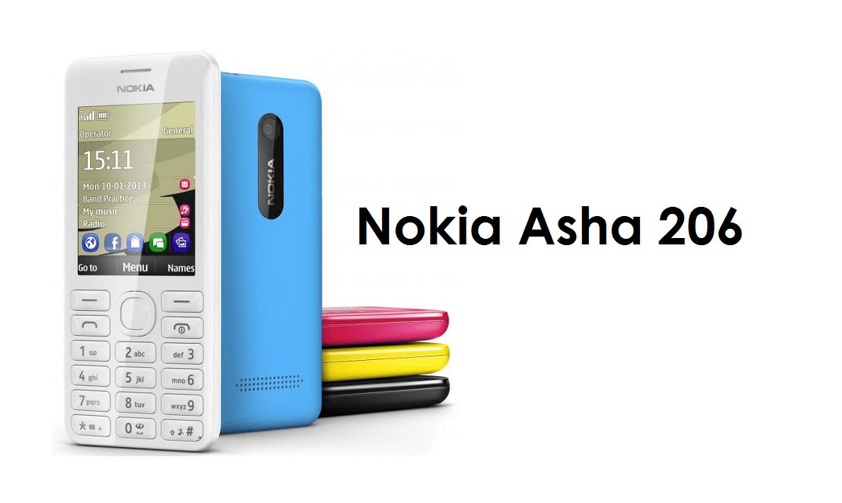 Nokia Asha 206 Unveiled