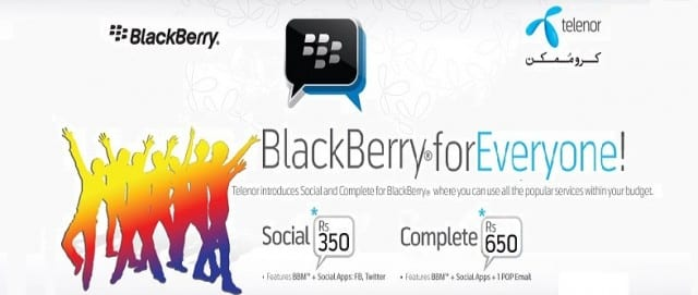 BlackBerry for Everyone! A New Package by Telenor