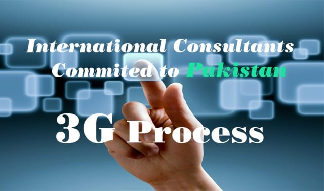 International Conusltants Commited to Pakistan 3G Process