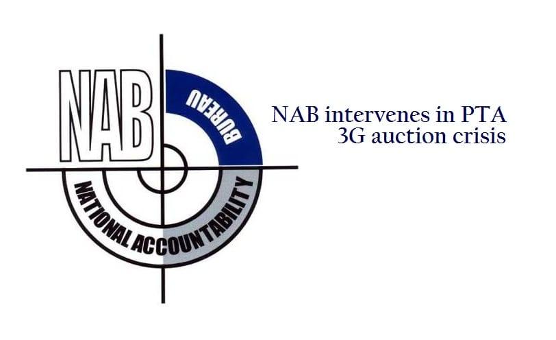 NAB Intervenes in PTA 3G Auction Crisis