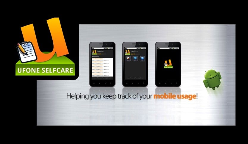 Ufone Introduced Selfcare Android App