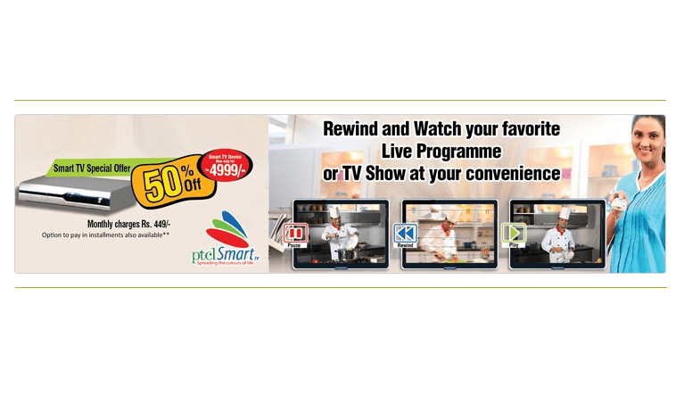 PTCL Offers Standalone Smart TV Package