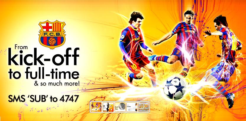 Ufone brings FC Barcelona SMS Alert