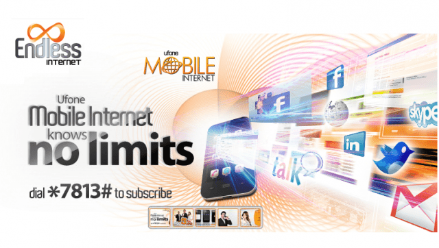 Ufone introduced Mobile Internet Data Packages