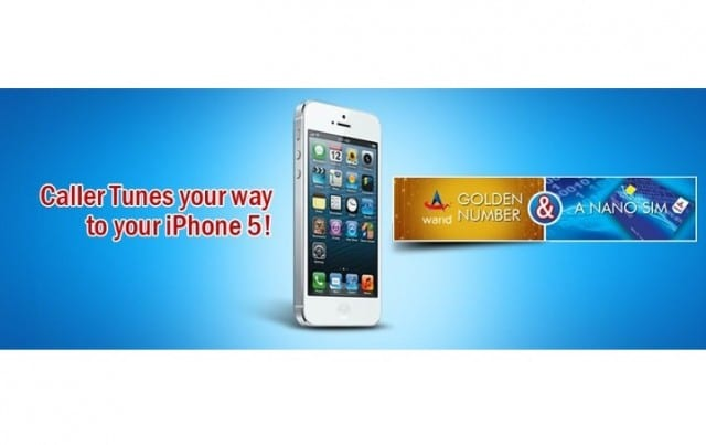 Warid brings Apple iPhone 5 with nano SIM and a Golden number