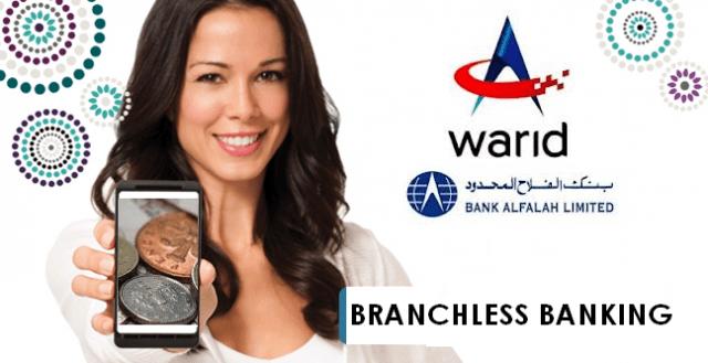 Warid and Bank Alfalah Step into Branchless Banking