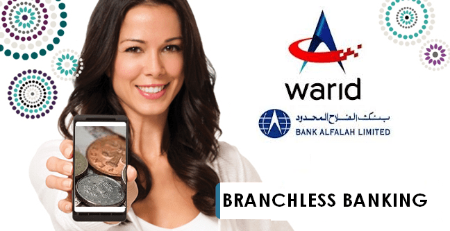 Warid and Bank Alfalah Step into Branchless Banking