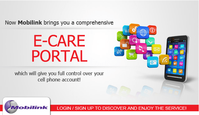 Mobilink Introduces E-Care Portal for Prepaid Customers