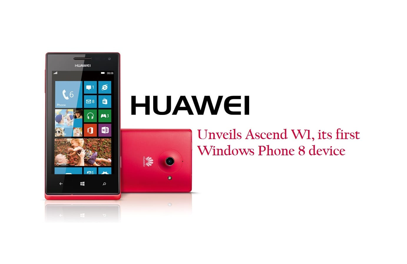 Photo of Huawei Unveied The Ascend W1; Its First Windows Phone