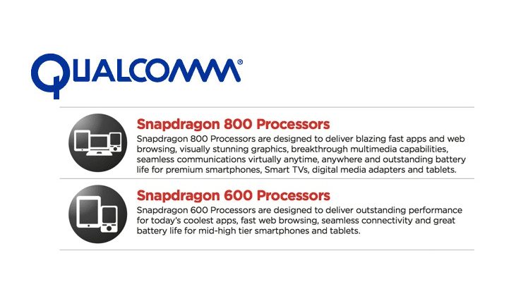 Photo of Snapdragon Announced 800 and 600 Series Processors