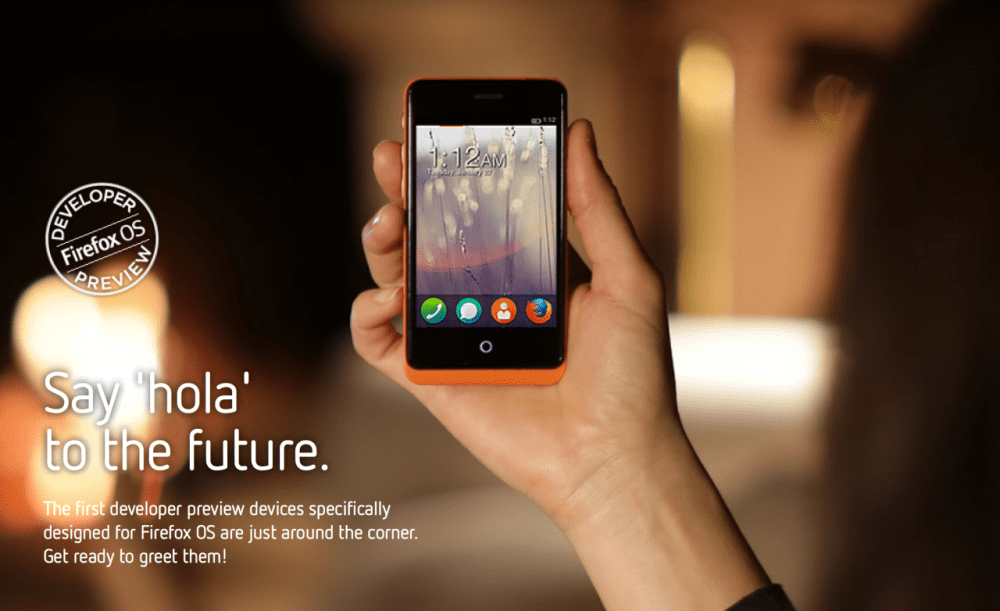 Photo of The First Firefox OS Phones Have Been Revealed