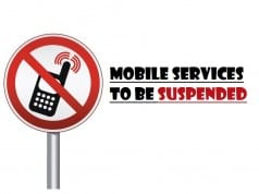 Mobile services to be suspended on account of Eid Milad un Nabvi