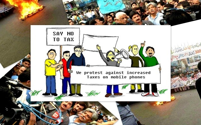 hall-road-traders-protest-on-mobile-phone-taxes
