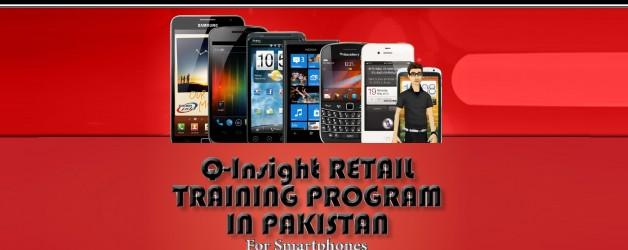 Photo of Q-Insight Retail Traning Program in Peshawar