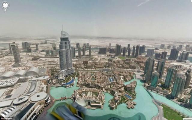google-maps-with-street-view-explores-burj-khalifa