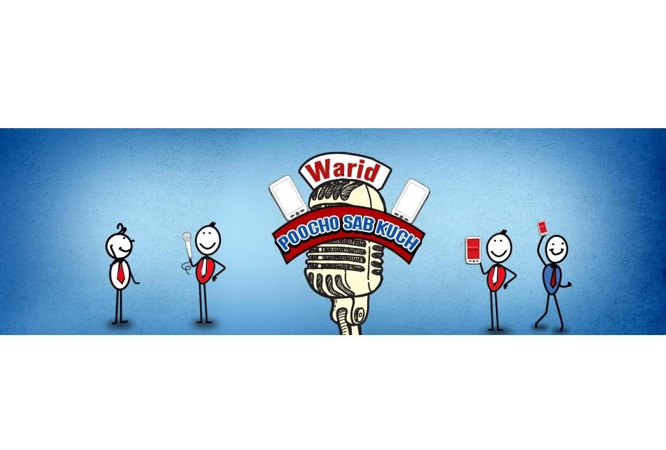 Warid Telecom launches its Poocho Sab Kuch service