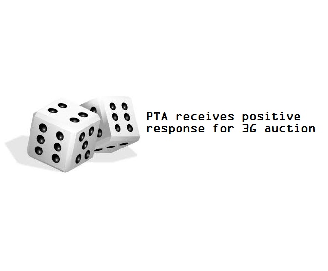 PTA receives positive response for 3G auction