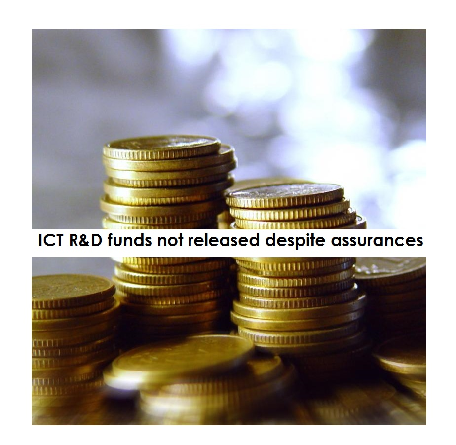 ICT R&D funds not released despite assurances