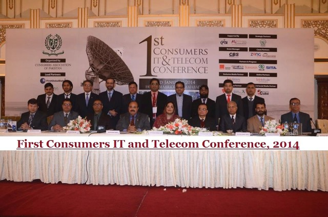 'First Consumers IT and Telecom Conference' in Islamabad