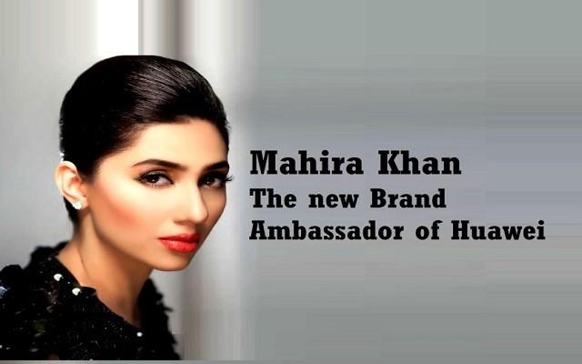 Mahira Khan to be the New Brand Ambassador of Huawei
