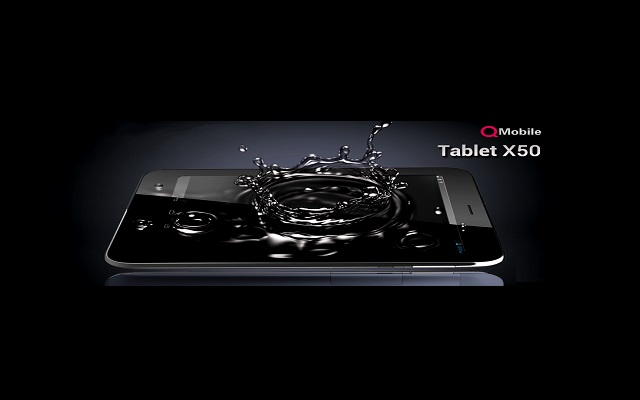 Qmobile Announces its First Tablet - Qmobile Tablet X50
