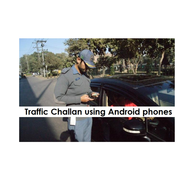 E-Challan is the New Pick of Mobile millennium