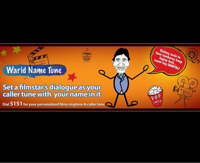 Warid introduces an interesting Name Tune service