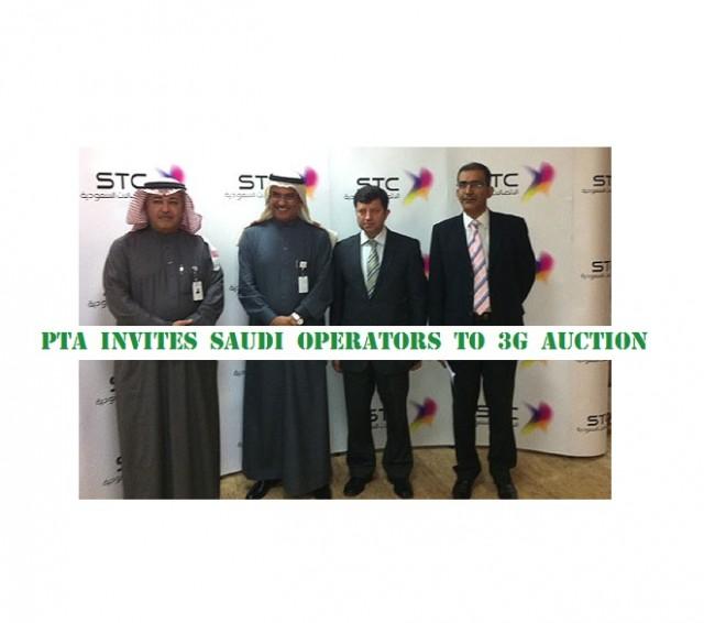 PTA invites Saudi operators to 3G auction