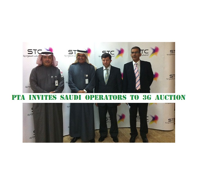 PTA invites Saudi operators to 3G auction