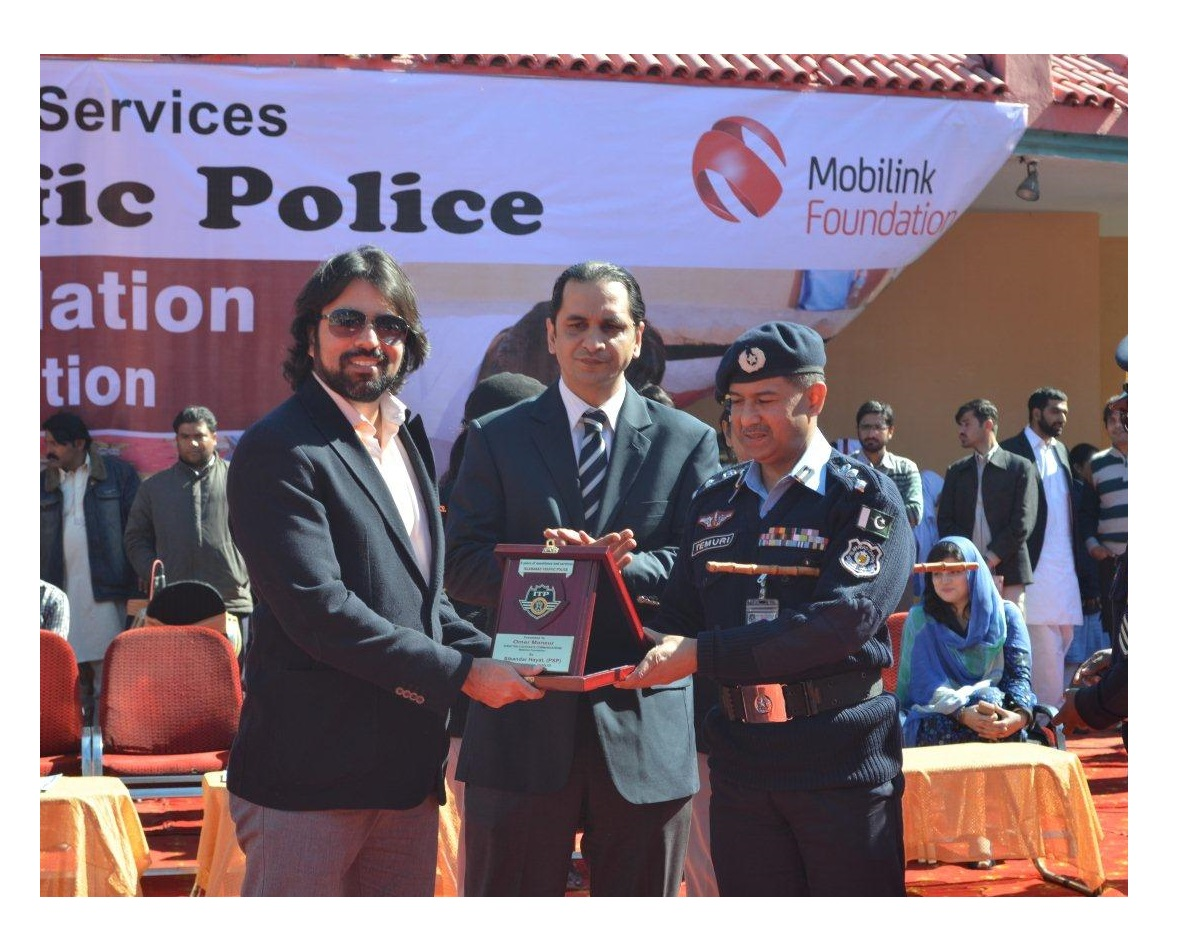 Mobilink organizes Road Safety Painting Competition