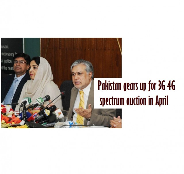 Pakistan gears up for 3G 4G spectrum auction in April