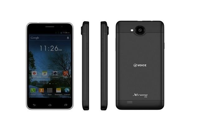 Voice presents its latest smartphone - Voice Xtreme V90