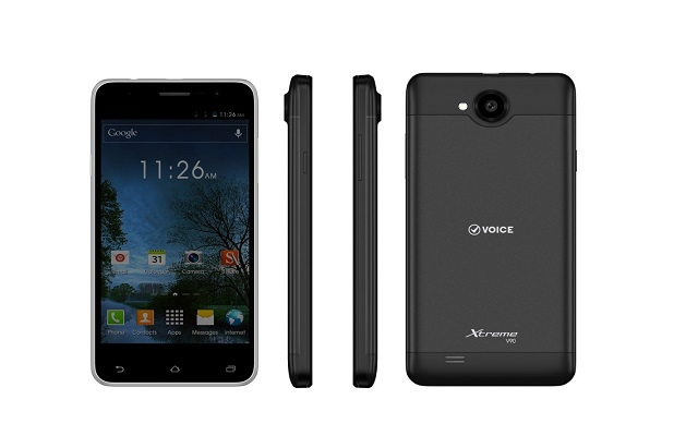 Voice presents its latest smartphone - Voice Xtreme V90