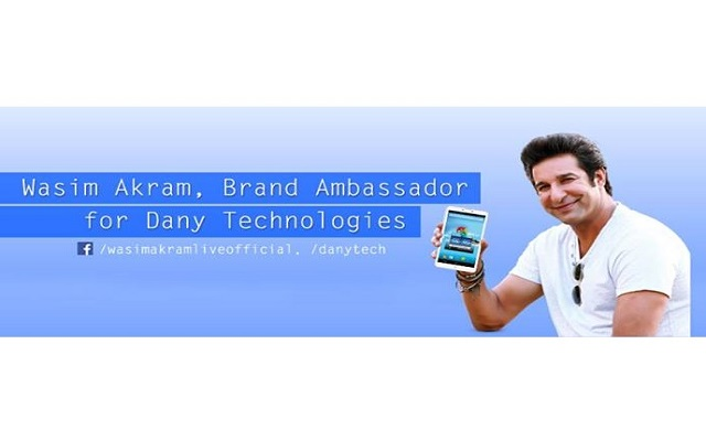 wasim-akram-becomes-the-brand-ambassador-of-dany-technologies