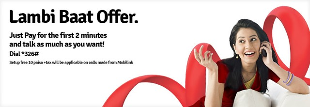 Mobilink's New Offer- Lambi Baat