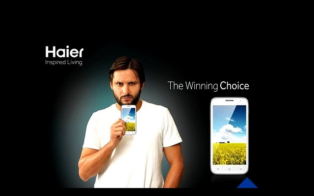 boom-boom-afridi-to-be-brand-ambassador-of-haier-smartphones
